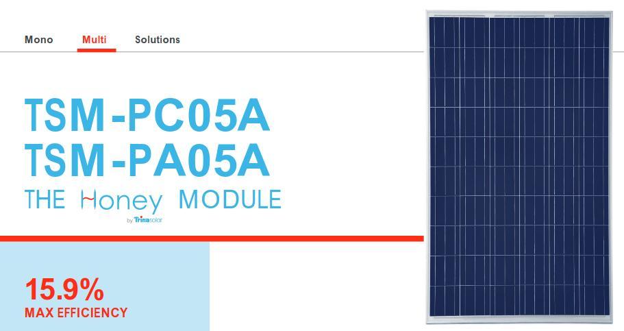 Trina Solar 320w Datasheet